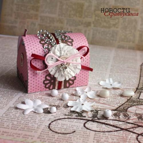 Упаковка подарка на День Св.Валентина