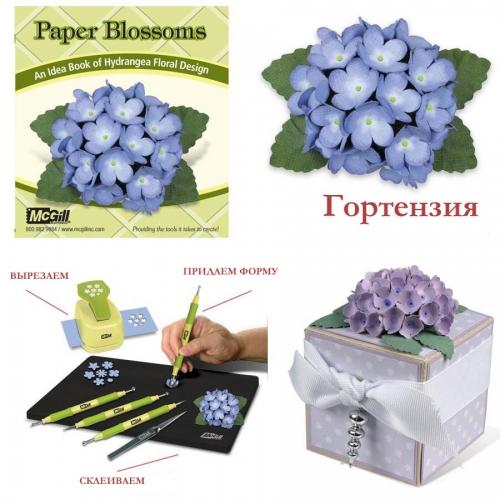 Дыроколы McGill: создаем цветы из бумаги