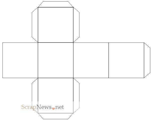 ВАЖНО: кубик вырезаем, но не