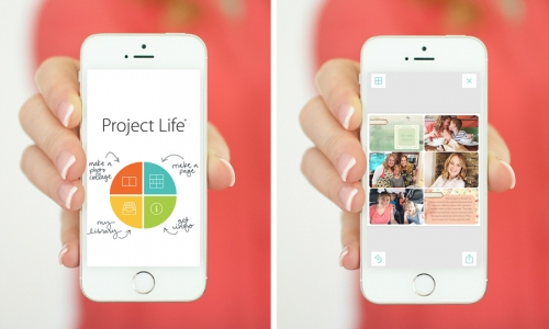 Приложение Project Life Becky Higgins