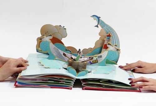 """Онлайн курс. """"Объёмные POP-UP открытки и книжки-раскладушки своими руками""""."""